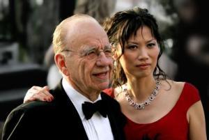 Rupert Murdoch & Wendi Deng 2005